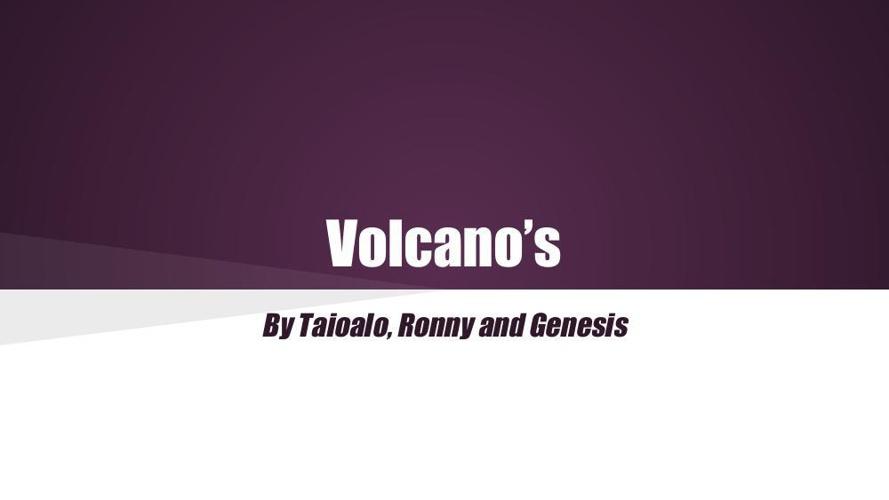 Volcano's TBT GT RM