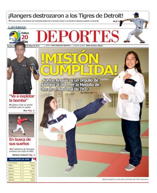 DEPORTES 23 de mayo 2014