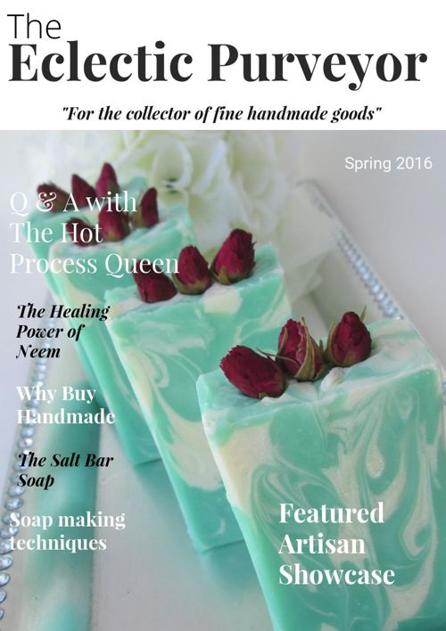 The Eclectic Purveyor    Spring 2016
