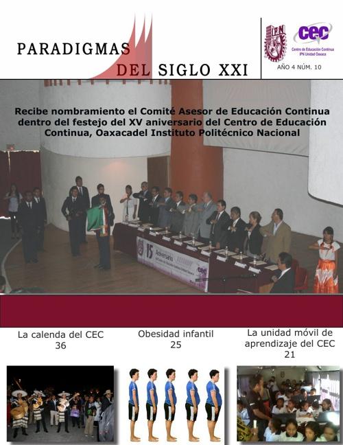 "Revista  ""Paradigmas del Siglo XXI"""