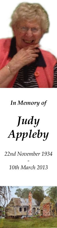 Judith Applyby