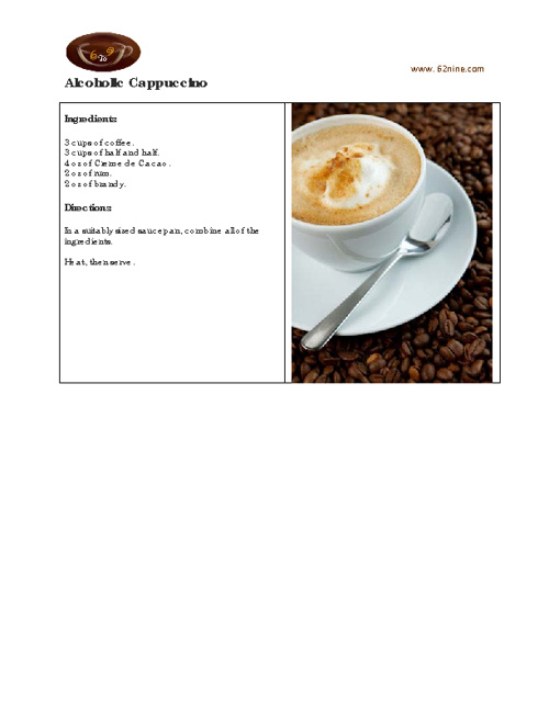 6To9 Coffee Recipes