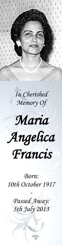 Maria Francis