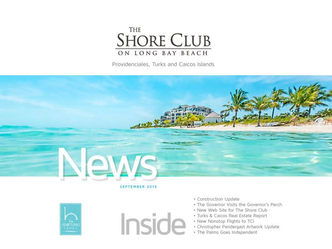 The Shore Club Newsletter | September 2015