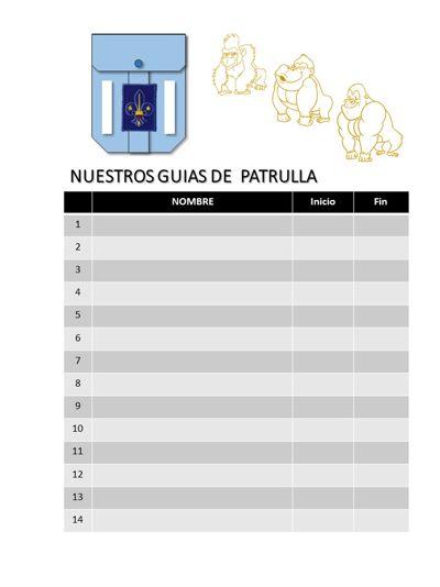 Libro de Oro Patrulla Gorilas Gr.20