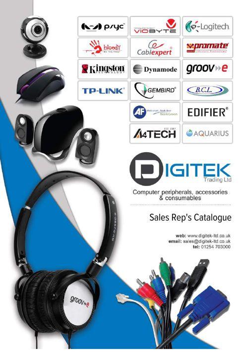 Digitek Reps Catalogue 2016