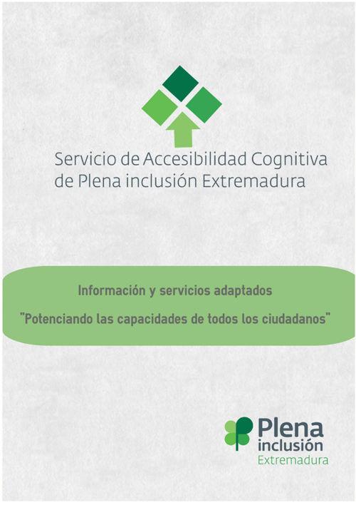 Servicio de Accesibilidad Cognitiva de Plena inclusión Extre
