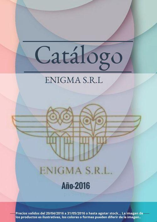 CATÁLOGO ENIGMA 2016 ORIGINAL.