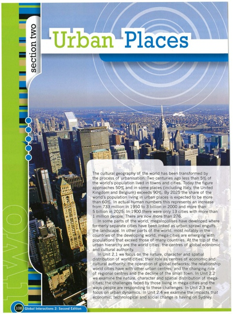 Urban Places World Cities