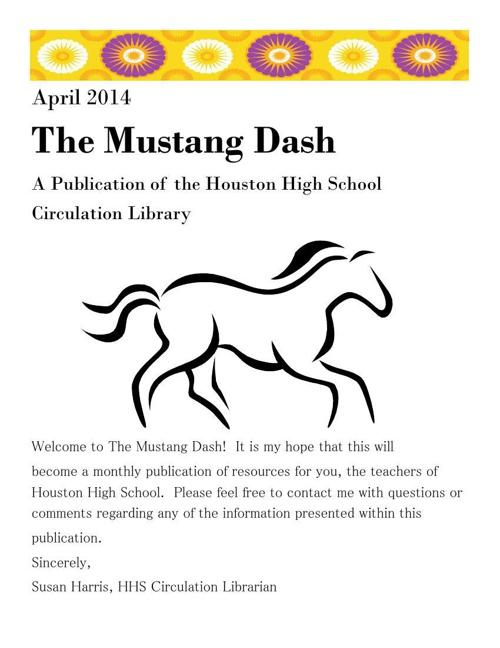 The Mustang Dash PDF