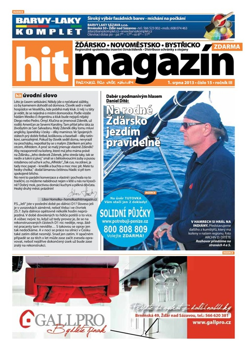 Hit magazín č.15 2013