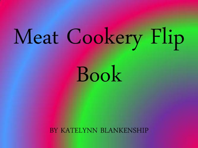 Meat Cookery FlipBook