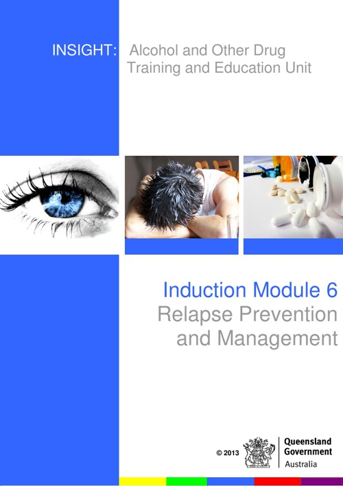 Relapse Prevention and Management Module