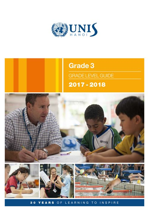 Grade 3 Curriculum Guide 2017-2018