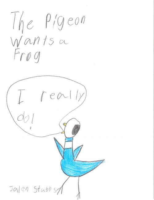 The Pigeon Wants a Frog