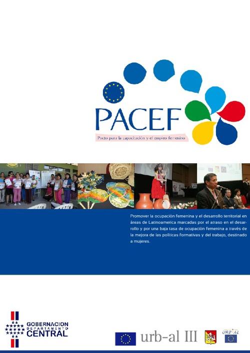 Brochure Pacef Paraguay