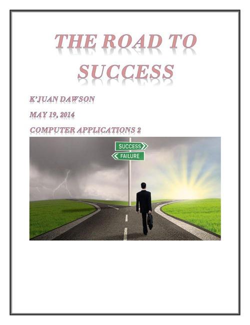Copy of Copy of K'Juan Dawson Final Exam cover page