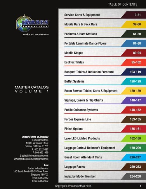 Forbes Master Catalog 2014