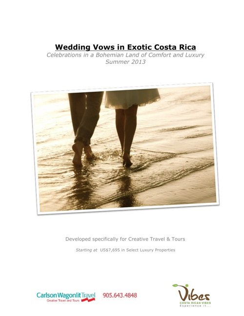Wedding Vows in Exotic Costa Rica