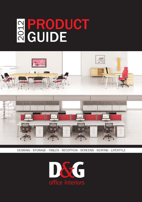 D&G Office Furniture Product Guide 2012