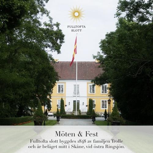 Välkomna till Fulltofta slott!