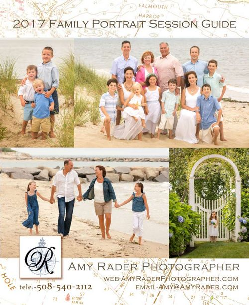 Amy Rader Photographer 2017 Family Portrait Session Guide