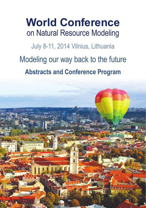 2014 World Conference on Natural Resource Modeling - Program and