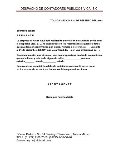 MARIA INES FUENTES NIETO (COMBINACION DE CORRESPONDENCIA) 601-C