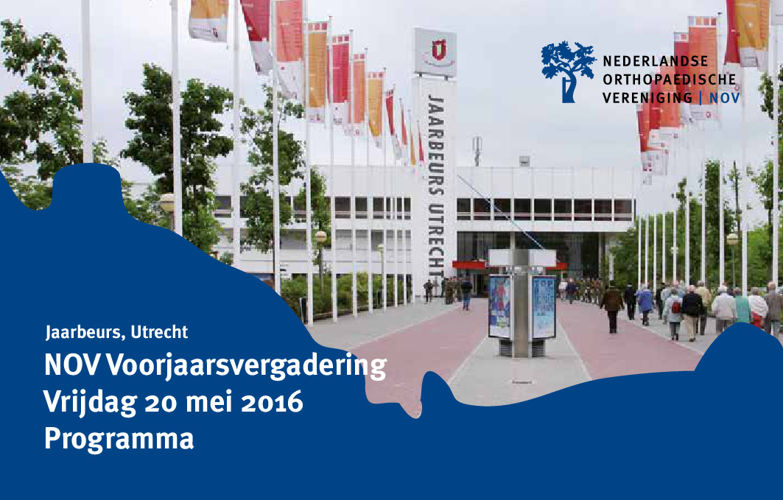 Programma Voorjaarsvergadering NOV2016