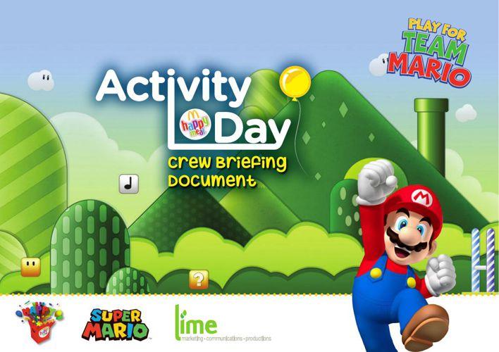 McDonalds Super Mario Briefing Document 1-13