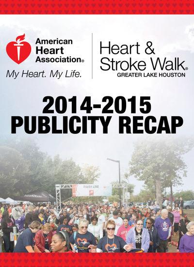 Greater Lake Houston Heart & Stroke Walk