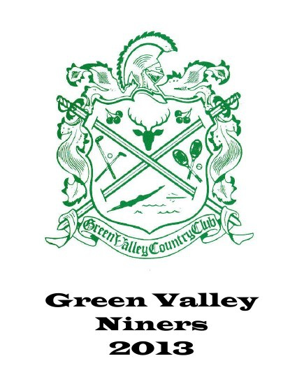 Green Valley Niners Booklet