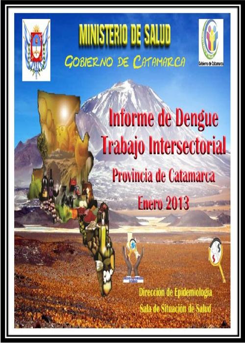 INFORME ACCIONES PREVENCIÓN DENGUE CATAMARCA