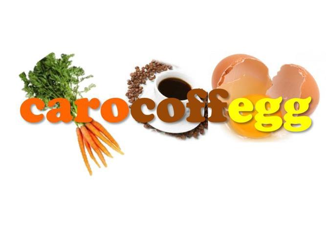 Mr's Rob's Example Produc Presentation: CaroCoffEgg