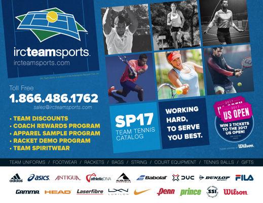 IRC Team Sports Catalog - Spring 2017