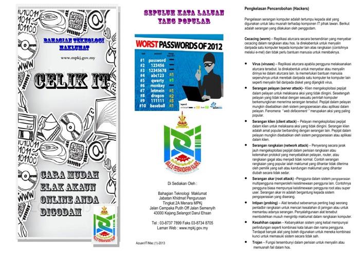 Risalah ICT Bil 1-2013