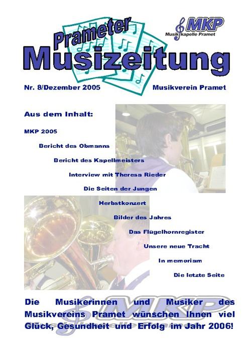 Musizeitung 2005 (Teil 1)