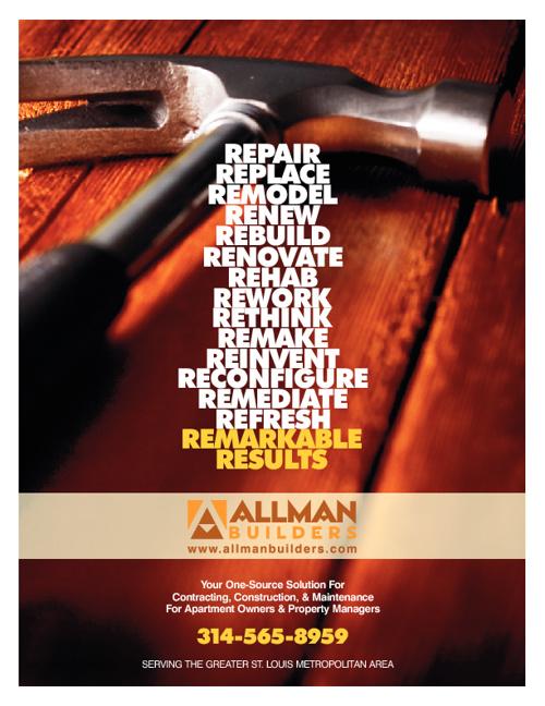 Allman Builders Apartment Contracting