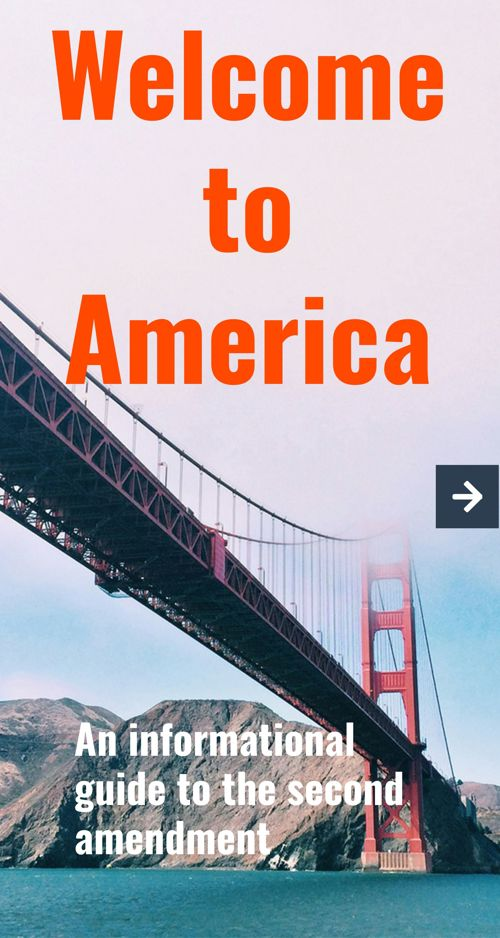 Welcome to america, A guide to the second amendment