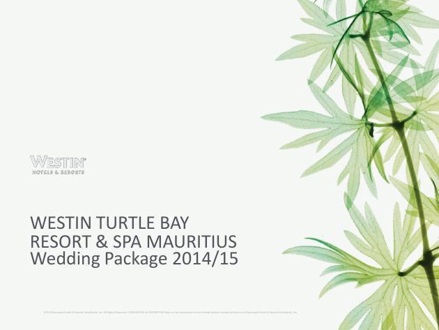 WTB Wedding Package
