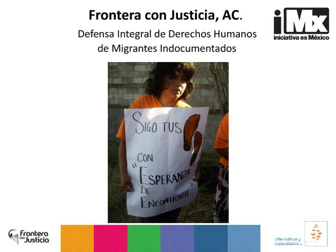 Frontera con Justicia, AC.