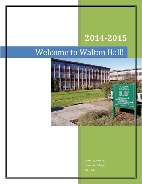 Welcome to Walton Letter