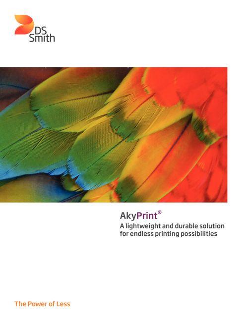 AkyPrint Leaflet