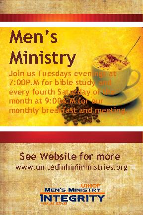 Men's Ministry General Flyer