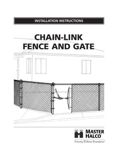 Chain Link Fence Brochure