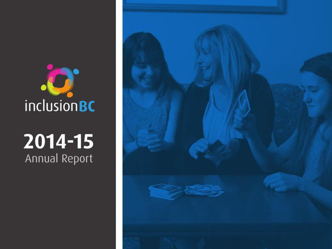 Inclusion BC 2014/15 Annual Report