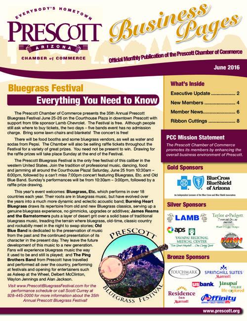 Prescott Chamber 6-16 Newsletter