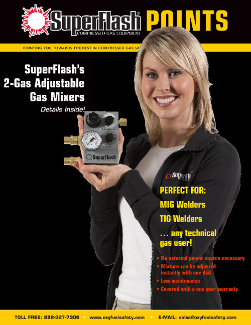 SuperFlash POINTS: Gas Mixer Special Edition