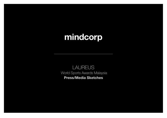 mindcorp Sketches Laureus World Sports Awards