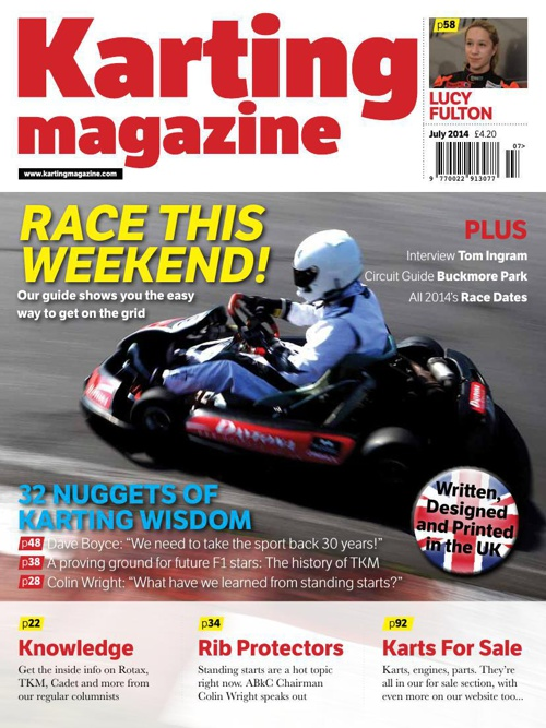 Check out the new Karting magazine